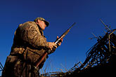 horizontal stock photography | California, Suisin Marsh, Duck Hunting, Can-Can Club, image id 1-846-21