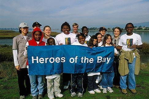 image 1-864-24 California, East Bay Parks, Arrowhead Marsh, Save the Bay restoration program