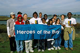 bay stock photography | California, East Bay Parks, Arrowhead Marsh, Save the Bay restoration program, image id 1-864-24