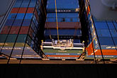 unload stock photography | California, Oakland, Port of Oakland, Hanjin Terminal , image id 2-225-50
