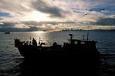 sky stock photography | California, San Francisco Bay, Herring Fishermen, Richardson Bay, image id 2-232-94