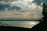 carquinez strait stock photography | California, Contra Costa, Port Costa, View towards Martinez, image id 2-235-51