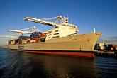 unload stock photography | California, Oakland, Port of Oakland, APL Terminal , image id 2-239-30