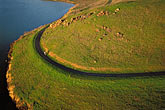 curved stock photography | California, East Bay Parks, Aerial, Coyote HIlls Regional Park, image id 2-241-60