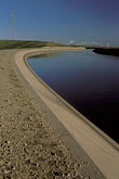 curved stock photography | California, Central Valley, California Aqueduct, Byron, image id 2-350-2
