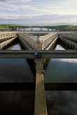 aqueduct stock photography | California, Central Valley, State Water Project, Byron, fish screens, image id 2-350-4