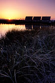 sunset stock photography | California, Solano County, Montezuma Slough tidal gates, image id 2-396-1