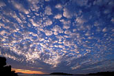 cirrus clouds stock photography | California, San Francisco Bay, Sunset over San Pablo Bay from Crockett, image id 2-426-9