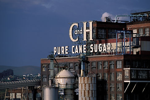 ... David Sanger | California, Contra Costa, Crockett, C & H Sugar factory