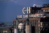 sugar stock photography | California, Contra Costa, Crockett, C & H Sugar factory, image id 2-430-27