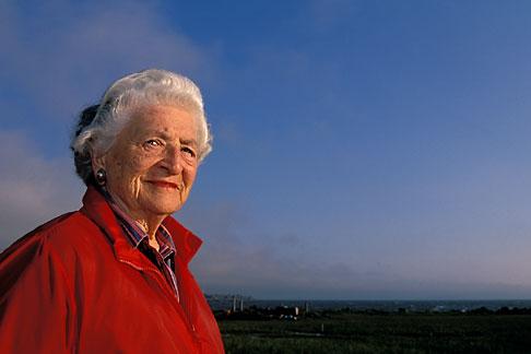 image 2-592-2 California, San Francisco Bay, Sylvia McLaughlin, founder of Save the Bay