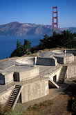 water stock photography | California, San Francisco, Coastal Defense Battery, Presidio, GGNRA, image id 2-610-47
