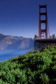golden gate bridge tower stock photography | California, San Francisco, Golden Gate Bridge, image id 2-611-28