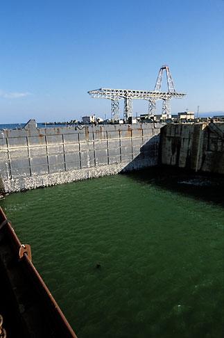 image 2-611-82 California, San Francisco, Hunters Point, Dry Dock No 4