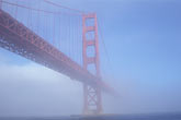 blue stock photography | California, San Francisco, Golden Gate Bridge, image id 4-490-25