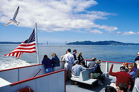 image 5-155-5 California, San Francisco Bay, Ferry to Angel Island