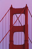 golden gate stock photography | California, Marin County, Golden Gate Bridge, north tower, image id 5-310-4