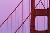 golden gate stock photography | California, Marin County, Golden Gate Bridge, north tower, image id 5-311-36