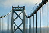 horizontal stock photography | California, San Francisco, Oakland-San Francisco Bay Bridge, image id 5-780-530