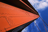 suspension bridge stock photography | California, San Francisco Bay, Golden Gate Bridge, image id 7-467-11