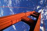 suspension bridge stock photography | California, San Francisco Bay, Golden Gate Bridge, image id 7-470-3