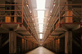 horizontal stock photography | California, San Francisco Bay, Cellhouse interior, Alcatraz, GGNRA, image id 7-474-7