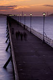 diagonal stock photography | California, Berkeley, Berkeley Pier at dusk, image id 9-151-10