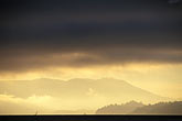 mount tam stock photography | California, San Francisco Bay, Storm clouds over Bay, image id 9-579-50