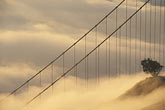 united states stock photography | California, Marin County, Golden Gate Bridge from Marin Headlands, image id 9-593-41