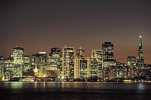 image 9-8-18 California, San Francisco, Skyline from Treasure Island