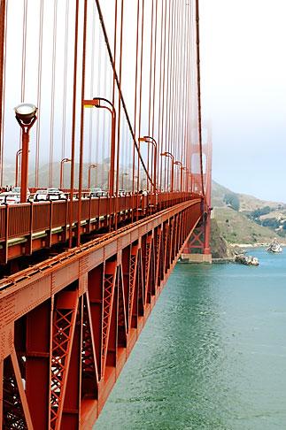 image S4-310-021 California, San Francisco Bay, Golden Gate Bridge