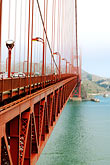 suspension bridge stock photography | California, San Francisco Bay, Golden Gate Bridge, image id S4-310-021