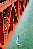 boat stock photography | California, San Francisco Bay, Golden Gate Bridge, image id S4-310-022