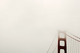 suspension bridge stock photography | California, San Francisco Bay, Golden Gate Bridge, image id S4-311-073