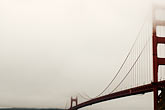 suspension bridge stock photography | California, San Francisco Bay, Golden Gate Bridge, image id S4-311-074