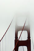suspension bridge stock photography | California, San Francisco Bay, Golden Gate Bridge, image id S4-311-090