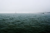cloudy stock photography | California, Berkeley, Sailboat entering marina, image id S5-144-1299