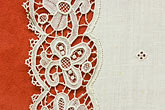 decorative fabric stock photography | Belgium, Bruges, Belgian Lace, image id 8-740-1001