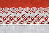 decorative fabric stock photography | Belgium, Bruges, Belgian Lace, image id 8-740-1004