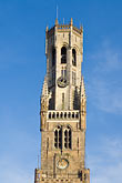 belfry stock photography | Belgium, Bruges, Belfry Tower, image id 8-740-791