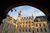 facade stock photography | Belgium, Bruges, Church of Our Lady, Onze-Lieve-Vrouwekerk, Courtyard, image id 8-741-2144