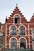 bruges stock photography | Belgium, Bruges, Gabled house Market Square, Brugge Markt, image id 8-741-2160