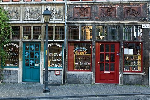 image 8-742-1677 Belgium, Ghent, Old shops, Patershol