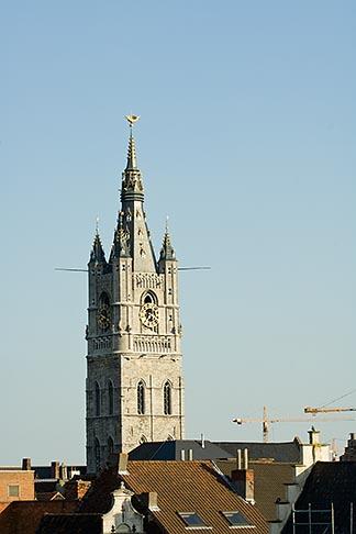 image 8-742-1946 Belgium, Ghent, Belfry