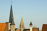 architecture stock photography | Belgium, Ghent, Red tile roofed houses, image id 8-742-1954