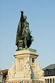 travel stock photography | Belgium, Ghent, Statue of Jacob van Artevelde, Brewer of Ghent, 1345, image id 8-742-1990