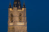 belfry stock photography | Belgium, Ghent, Belfry at night, image id 8-742-2074
