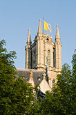 steeple stock photography | Belgium, Ghent, St. Bavo