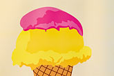 ice cream sign stock photography | Belgium, Ghent, Ice Cream sign, image id 8-743-2367