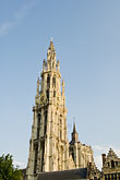steeple stock photography | Belgium, Antwerp, Cathedral of Our Lady, Onze Lieve Vrouwekathedraal, image id 8-744-2183